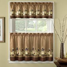 rod pocket kitchen curtains for window jcpenney