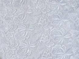 tissus robe de mari e guipure blanche la broderie sur tissu pour la robe de mariée de