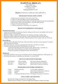 Sample Resume For Warehouse Supervisor Essay For Technology Resume Warehouse Supervisor
