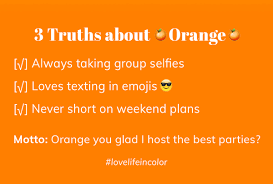 what color is orange true hue what color is your personality thredit