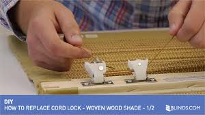how to replace a cord lock on a woven wood shade 1 of 2 u0026raquo