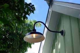 gooseneck barn light fixtures gooseneck barn lights bring historic touch to conch style home