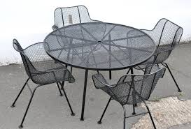 Woodard Patio Table Extraordinary Mesh Wire Outdoor Chair Metal Mesh Patio Furniture