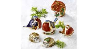 royal crown derby squirrel ornament the stay