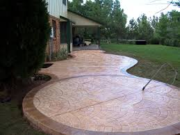 Backyard Concrete Patio Concrete Patios Design U2014 Indoor Outdoor Homes Best Concrete