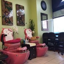 Nail Salon With Kid Chairs Tiffany Nails 14 Reviews Nail Salons 43 Memorial Plz
