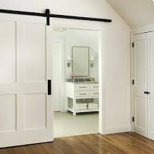 Barn Door Design Ideas White Barn Door Design Ideas