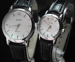 Jam Tangan Alba Putih jual jam tangan alba quartz hitam putih murah di lapak