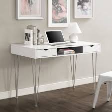 tables urban shop z shaped student desk sleek classic design