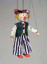 clown puppets for sale buy clown wood marionette puppet online size 8 code ma154