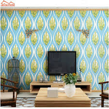 aliexpress com buy shinehome 10m peacock feather damask large 3d