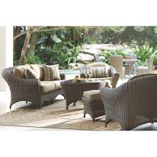 Martha Stewart Living Patio Furniture Cushions Martha Stewart Living Lake Adela Weathered Gray 6 Patio