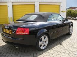 audi a4 2007 convertible used audi a4 2007 petrol 1 8t s line 2dr convertible black manual