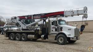 kenworth t800 high hood for sale 5096s mounted to 2012 kenworth t800 tri drive chassis crane for