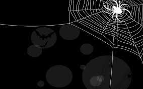 halloween background tiling spiderweb backgrounds wallpaperpulse