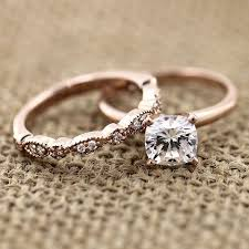 ring wedding traditional solitaire engagement ring wedding set wedding and gold