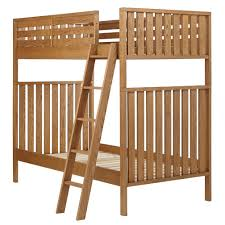 Cargo Bunk Bed Cargo Bunk Bed White The Land Of Nod 1 500 78 5 L X 40 5 D