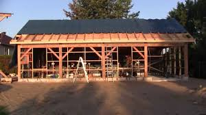 the woodpecker ep 61 building the new shop part 8 the roof youtube