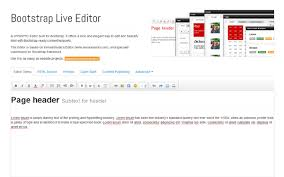 bootstrap themes header bootstrap live editor selling for 37 00