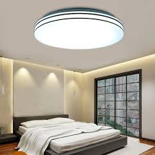 Ceiling Light Fixtures For Living Room by 24w Round Modern Ceiling Light Fixture Led Ceiling Lights Flush
