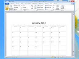 awesome collection of insert calendar template in word 2007 in