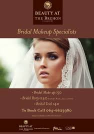 bridal makeup package bridal shower packages brehon hotel and angsana spa killarney