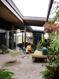 Home Courtyard by Dc Hillier U0027s Mcm Daily Joseph Eichler