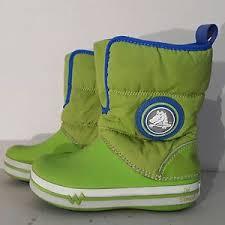 crocs light up boots l k crocs 15811 little girls boys size 2 light up winter rain