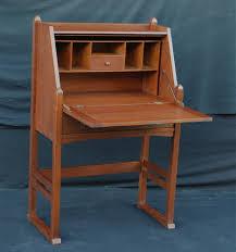 Drop Lid Secretary Desk by Voorhees Craftsman Mission Oak Furniture Rare Early Stickley