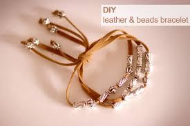 silver bead bracelet diy images Crashingred diy leather and bead bracelet crashingred jpg
