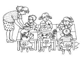 coloring page school school days coloring pages