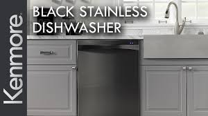 kitchen with stainless steel appliances kenmore black stainless steel dishwasher kenmore kitchen
