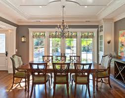 dining room windows dining room window treatment ideas be home