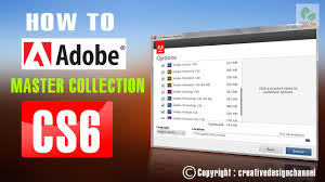 install adobe master collection cs6 tutorial how to install