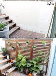 weekend project u2013 patio garden
