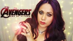 avengers age of ultron scarlet witch makeup youtube