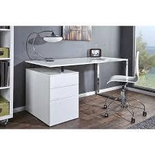 rangement de bureau design bureau design blanc laqué avec rangement compact achat vente