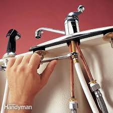 removing kitchen sink faucet how to replace kitchen sink intunition