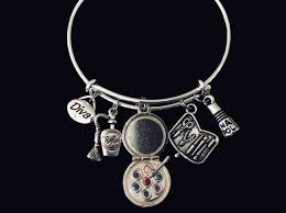 child charm bracelet images Child size make up diva children 39 s expandable charm bracelet jpeg