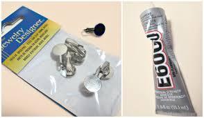 how to make clip on earrings best 8 ear earrings serpden