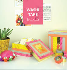 what is washi tape washi tape decorative boxes