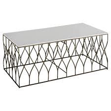 Brass Coffee Table by Ada Modern Deco Bone Brass Coffee Table Kathy Kuo Home