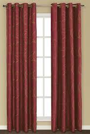 Marrakech Curtain Sinclair Embroidery Grommet Curtain Chocolate United Curtain