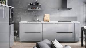 ikea high gloss kitchen cabinets ringhult high gloss light grey kitchen ikea ireland