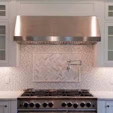 Oven Backsplash Marble Oven Backsplash Design Ideas