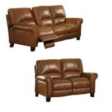 Brown Leather Reclining Sofa by Reclining Sofa And Loveseat Sets Foter