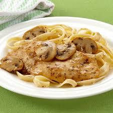 Main Dish Chicken Recipes - chicken marsala mccormick