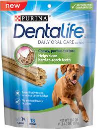 dentalife daily oral care large dental dog treats 18 count