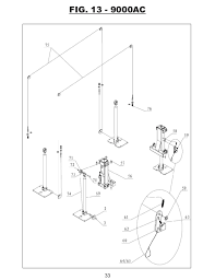 titan hd2 p 9000ac af 2 post lift manual