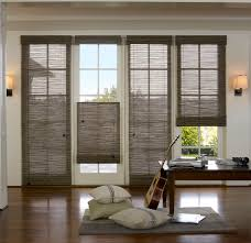 interior rustic wood top down bottom up shades for living room